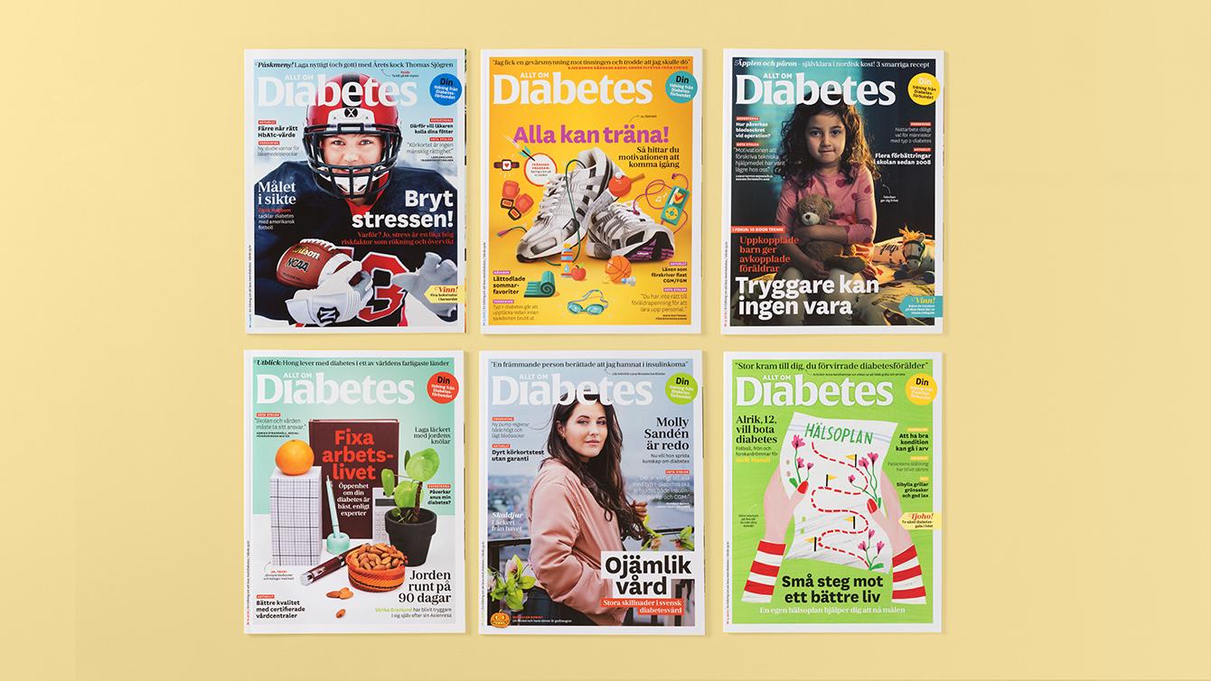 Tidningen Allt om diabetes.