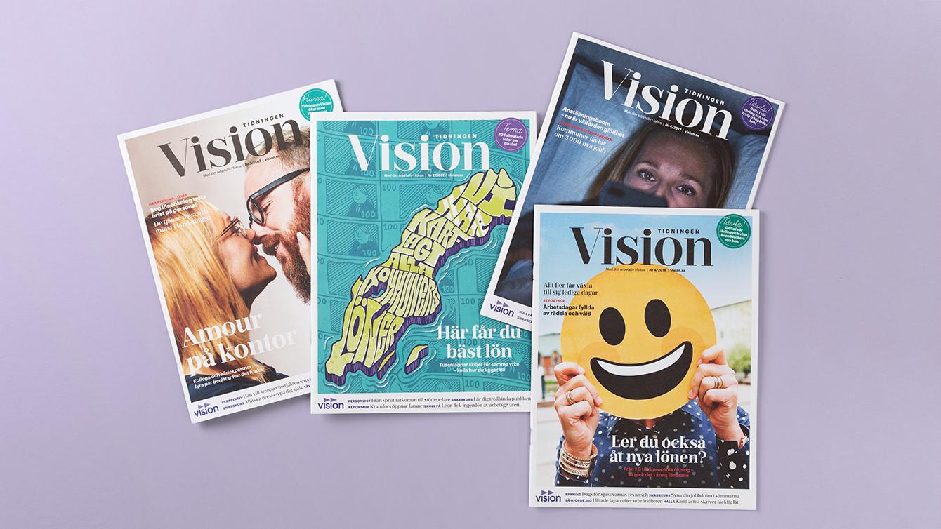 Tidningen Vision.