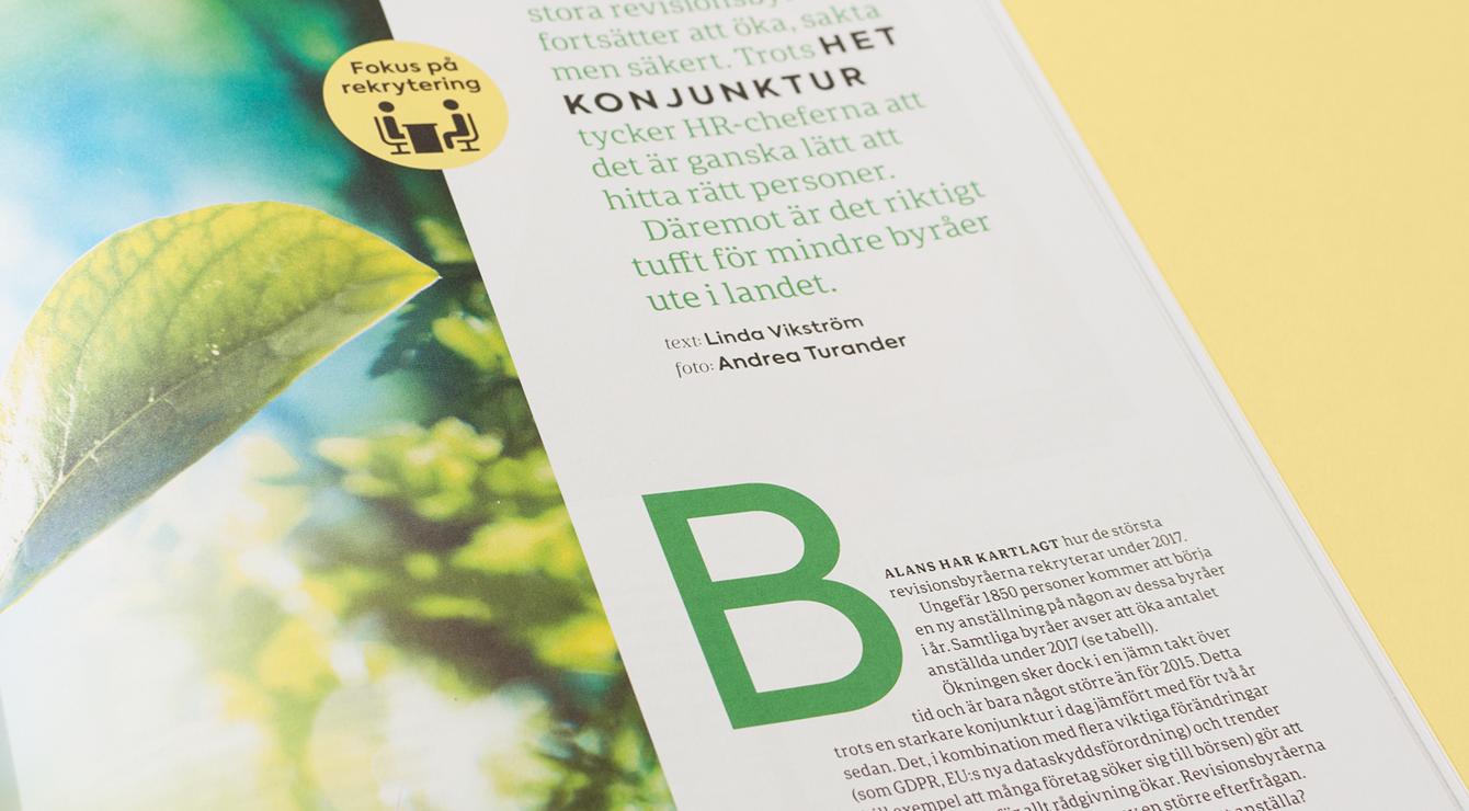 Tidningen Balans.