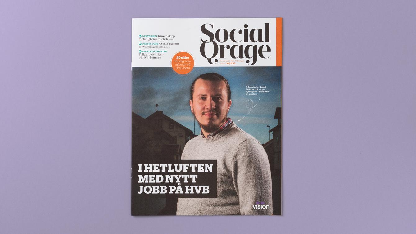Tidningen Social Qrage.