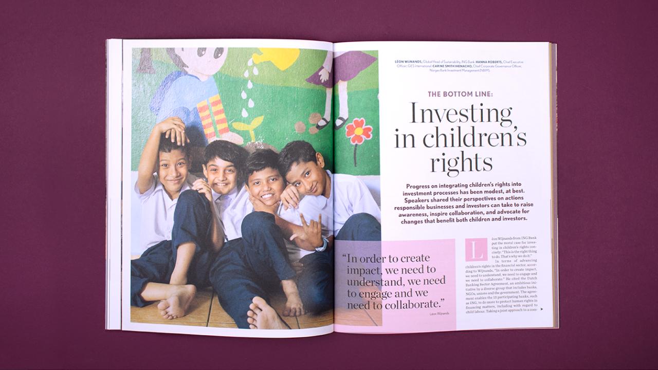 Inlaga Global Child Forum rapport 2018.
