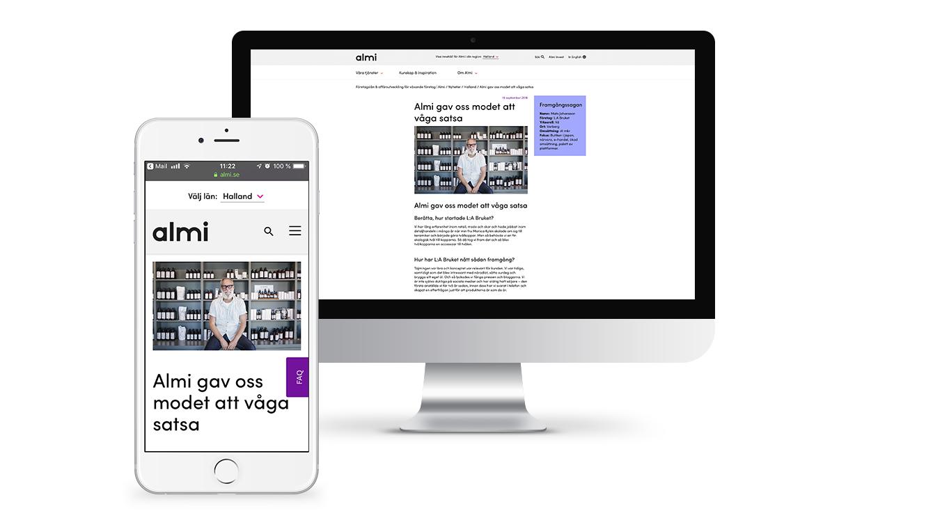 Magasin och blogg för Almis Hallands kunder