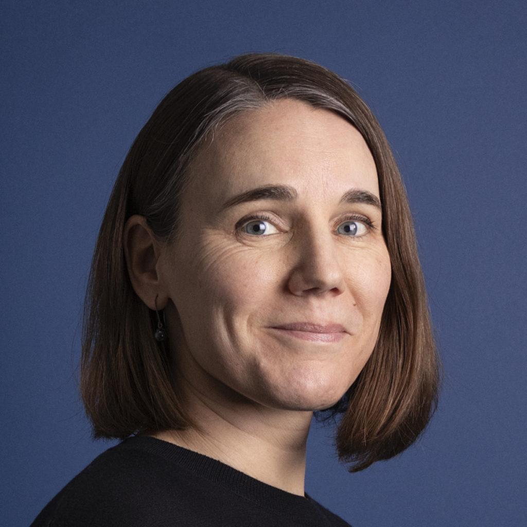 Jenny Gemzell. Porträtt på medarbetare, Kate redaktionell design.
