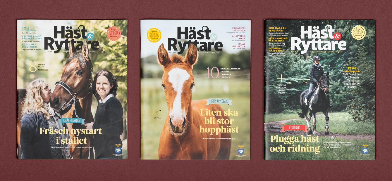 Svenska Ridsportförbundet. Tidningen Häst & Ryttare.