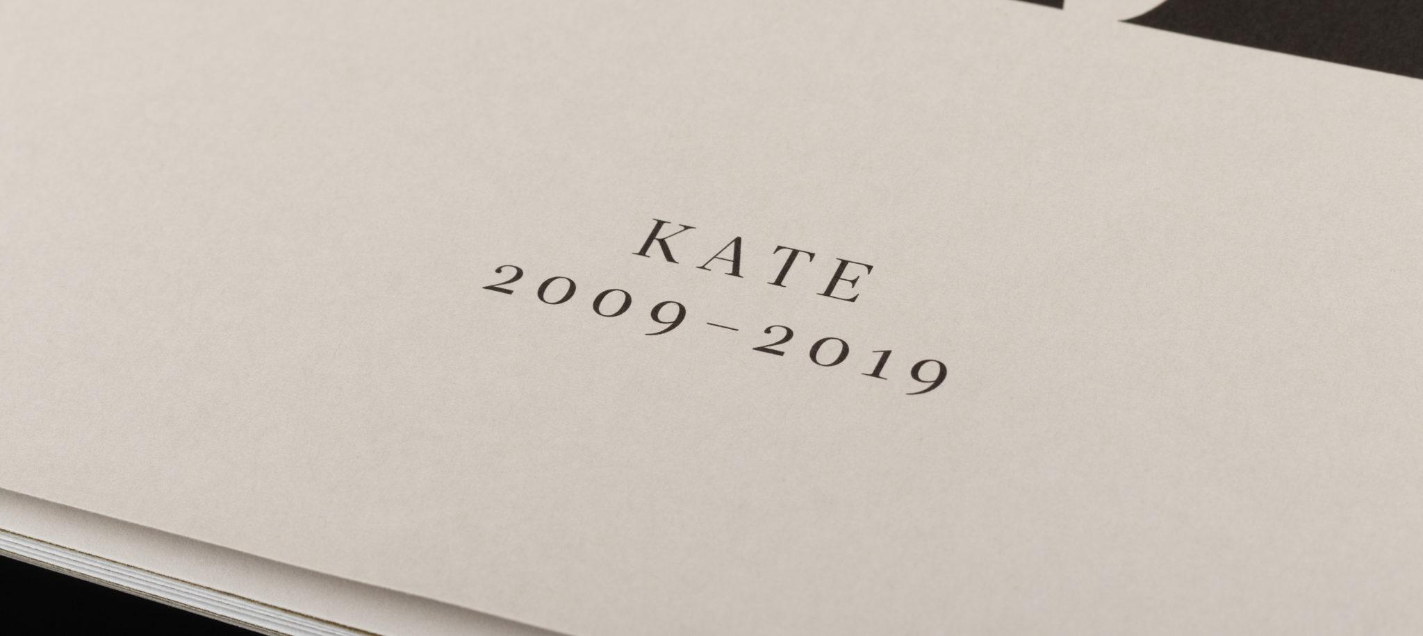 Kate jubileum, tidning. 10 år.