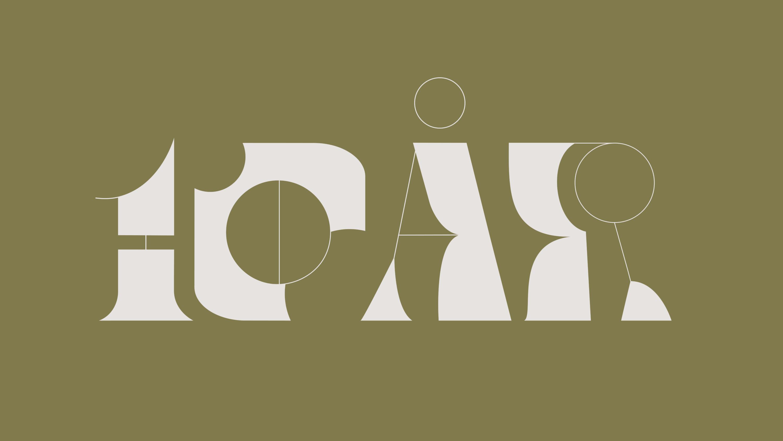 Kate designstudio 10 år. Vårt typsnitt Kate Deco.